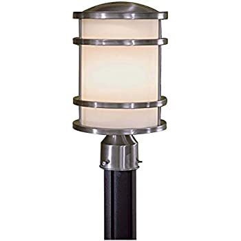 Minka lavery 9802 144 2 light outdoor pocket lantern brushed minka lavery 9806 144 bay view 1 light outdoor post mount brushed stainless steel aloadofball Choice Image