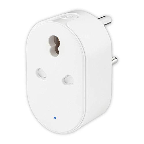 Protium 16A high power Smart plug work With Alexa, Google & IFTTT & Smart life app, For Air Conditioner, Geyser & other…
