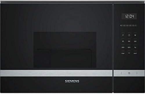 Siemens 2500047132 Microondas integrable, Negro/Inox: 229.39 ...