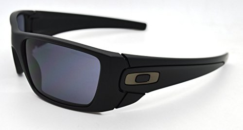 Oakley SI Fuel Cell Sunglasses Matte Black with Gunmetal Icon/Gray - Frames Sunglass Only Oakley