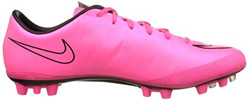 Nike Mercurial Veloce II AG-R, Scarpe Sportive, Uomo Hyper Pink/Hyper Pink-blk-blk