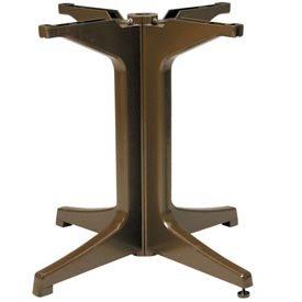 Resin Outdoor Pedestal Table Base 2000 - Bronze Mist