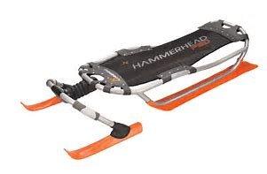IAMR00523728 * Yukon Charlie's Hammerhead Pro Snow Sled, Orange by Yukon Charlie's