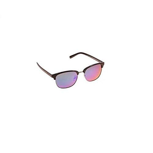 Polaroid Sunglasses Pld1012s Polarized Round Sunglasses, Dark Ruthenium/Green Mirror, 54 - Sunglasses Ruthenium