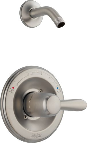 Single Delta Lahara Handle (Delta T14238-SSLHD Lahara Monitor 14 Series Shower Trim, Stainless)