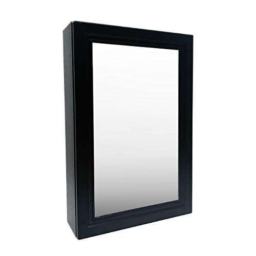 Tamyoo  Mirrored Medicine Cabinet Aluminum Cabinet with Framed Mirrored Door Bathroom Vanity - Bathroom Framed Mirrors Aluminum
