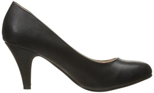 Brinley Co Womens Miles Dress Pump Regular E Larghe Taglie Nero Liscio