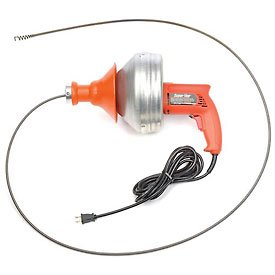 General Wire Super-Vee Drain/Sewer Cleaning Machine W/ 25...