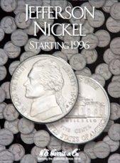 Jefferson Nickels 1996-2002 HE Harris Coin ()
