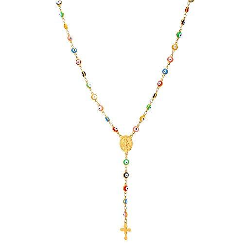 U7 Plated Beaded Necklace Benediact