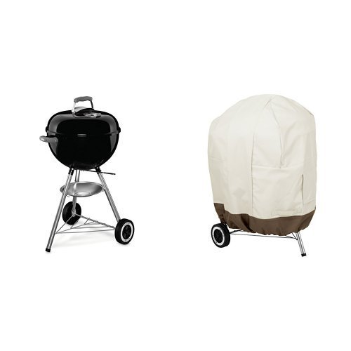 Weber 441001 Original Kettle 18-Inch Charcoal Grill & Amazon