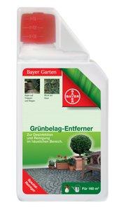 Bayer 02941043 Garten Grünbelag-Entferner für 80, 160 oder 400m², 1 Liter