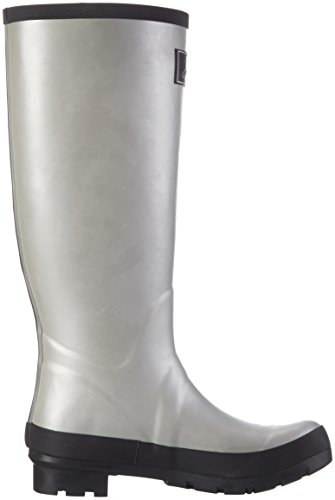 Joules Womens Field Welly Rain Boot Argento