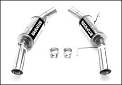Magnaflow Competition Series - MagnaFlow 16793 Stainless Cat-Back Exhaust System 2009-2009 Ford Mustang V8 4.6L