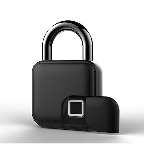 Gmt Combination Safe - Betty USB Rechargeable Smart Lock Keyless Fingerprint Lock IP65 Waterproof Anti-Theft Security Padlock Door Luggage Case Lock