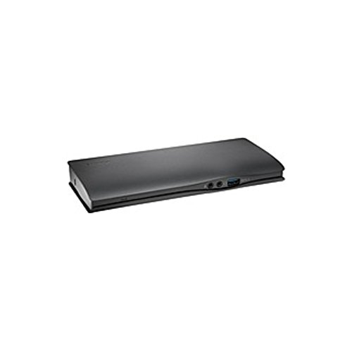 Kensington SD4600P USB-C Universal Dock with Power - for Notebook/Tablet PC - USB Type C - Network (RJ-45) - HDMI - DisplayPort - Audio Line Out - Microphone - Thunderbolt - (Certified Refurbished)