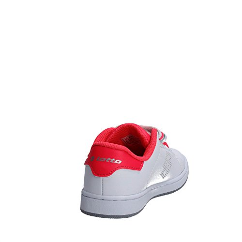 Lotto S7906 Niedrige Sneakers Mädchen Weiss/Rosa