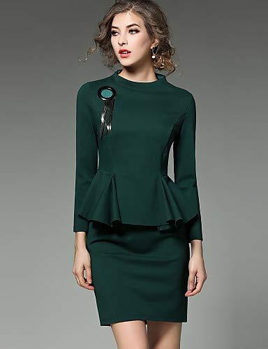 f395dc06c YFLTZ Vestido de Novia Chic Sofisticado de la Calle de Las Mujeres ...