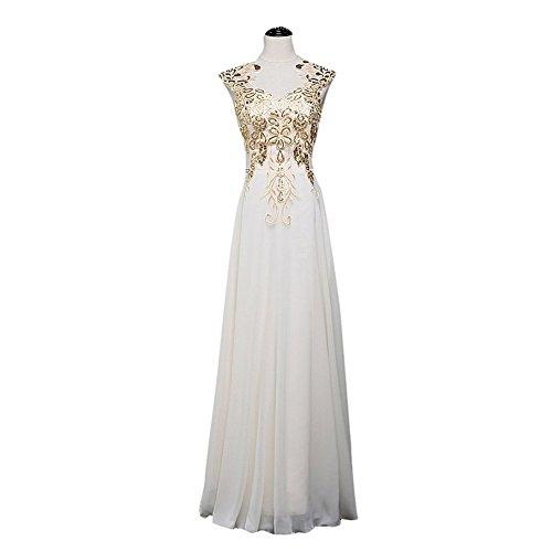 Drasawee Damen Kleid Empire Drasawee Damen Champange wwEqRFr