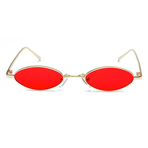 C2 Mxssi lunettes soleil de lunettes petites lunettes ovales Vintage hommes de soleil petites femmes pour 6q6fr