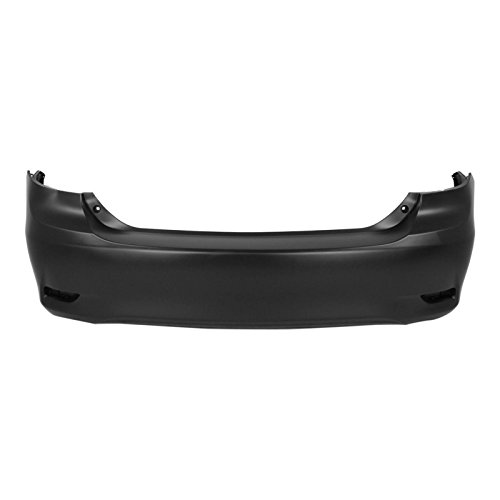 (MBI AUTO - Painted to Match, Rear Bumper Cover for 2011-2013 Toyota Corolla 11-13, TO1100287)