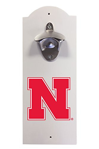 Nebraska Cornhuskers Wall Mounted Bottle Opener