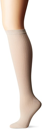- Dr. Scholl's Women's Travel Knee High Socks with Graduated Compression, Khaki, Shoe Size: 8-10
