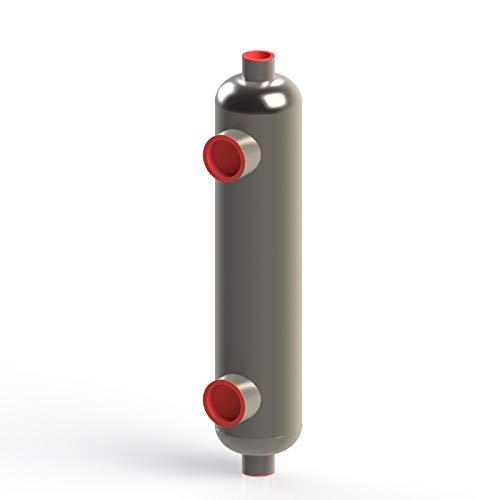 SP 2.0 1,200,000 BTU Titanium Pool & Spa Heat Exchanger (Same Side Shell Connections) ()