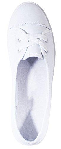 Elara - Zapatillas de casa Mujer Weiß