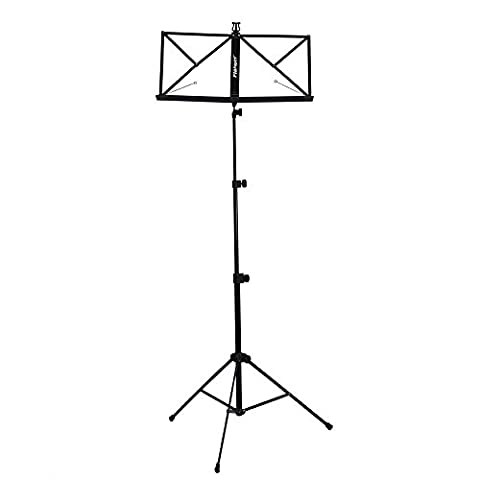 Flanger FL-09R Lightweight Foldable Music stand with Carry Bag, 1 Pack (Musical Instruments & Accessories)