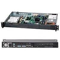 Supermicro CSE-502L-200B 1U MINI9.8 1X3.5HDD OR2X2.5 HDD FANLESS DESGN 200W PSU OPT FOR ATOM