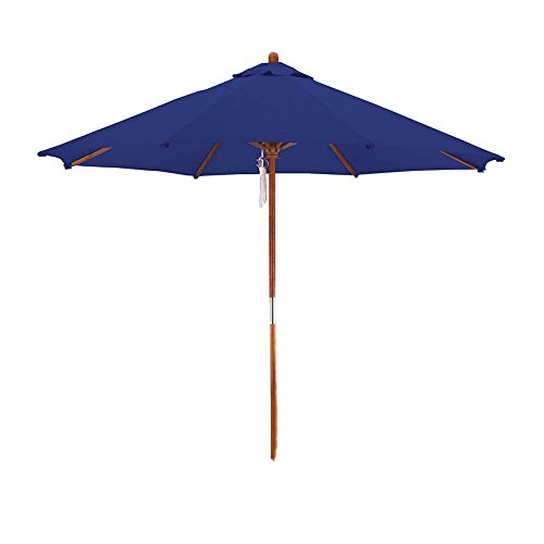 Cheap Phat Tommy Deluxe Market Umbrella in Navy Blue