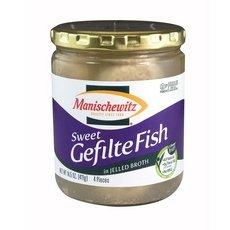 Manischewitz Gefilte Fish (Manischewitz, Fish Gefilte Jel, 14.5 OZ (Pack of 12))