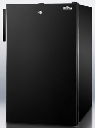 "Summit CM421BL 20"" Medically Approved Compact Refrigerator w"