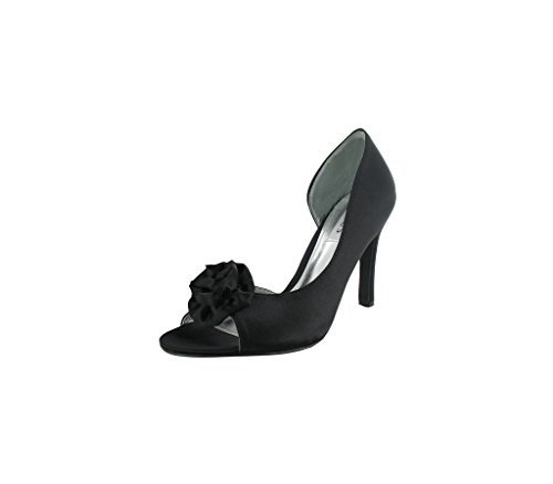 LEXUS Z094 - FELICITY - Zapatos de vestir de Satén para mujer Negro - negro