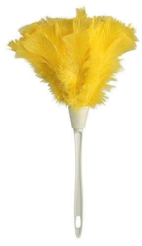 Ettore 48618 Turkey Feather Duster, 14-inch (Pack of 10)