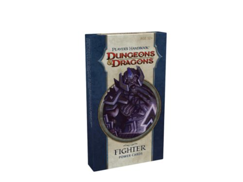 Player's Handbook - Fighter Power Cards: A 4th Edition D&D Accessory - Fighter Power Cards
