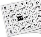 Nasco Large US Made Laminated Bingo Cards - 8.5 x 11 - School or Senior Activity - SN01249 Number Set 2 - Pack of 25