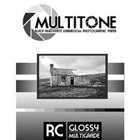 Inkpress MultiTone Black & White Resin Coated BW Glossy Darkroom Photographic Paper, 8x10'', 25 Sheets by Inkpress