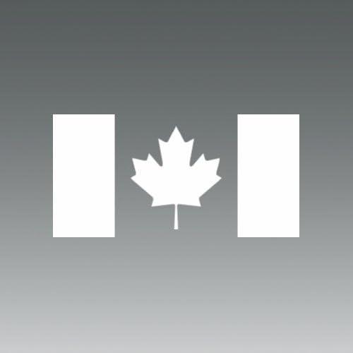 Canada Flag Wall Stickers Maple Leaf Wall Decor Mural Vinyl Decal A4 320x220mm