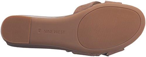 Nine Natural Suede West Wedge Tiggy Women's Sandal rtwr6PCYq