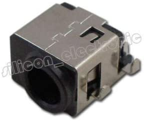 AC DC Power Jack Socket Compatible with Samsung NP550P5C-A01UB NP550P5C-A01US NP550P5C-A02UB