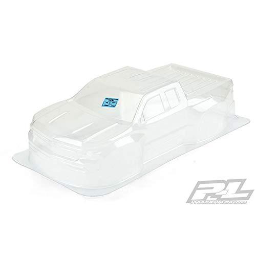 Short Course Body - Pro-line Racing 2019 Chevy Silverado Z71 Trail Boss Clear Body: Slash, PRO351200