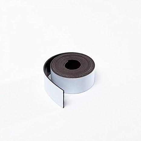 Breite 100 mm Meterware Neu Top Magnetband Kennzeichnungsband schwarz