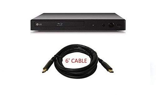LG BP175 Blu-Ray DVD Player, with HDMI Port Bundle (Comes with a 6 Foot HDMI Cable) by LG