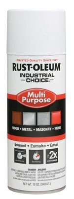 Rust-Oleum 1610830 1600 System Multi-Purpose Enamel Spray Paint, 12-Ounce