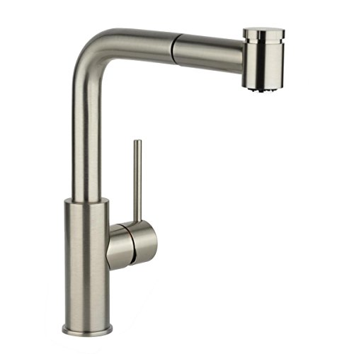 Elkay LKHA3041CR Harmony Chrome Single Lever Pull-out Spray Kitchen Faucet ()