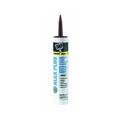 18120 brown acrylic caulk