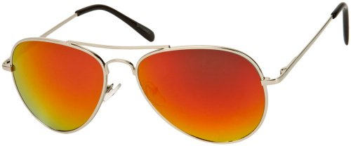 Sunglass Warehouse | The Miami Sunglasses - Aviator - Metal Frame - Men & - Sunglasses Flashy