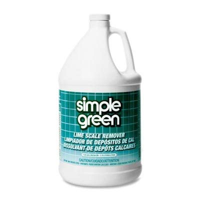 Simple Green 1710000650128 Institutional Organic Formula Lime Scale Remover in 1 gal Bottles (Pack of 6)